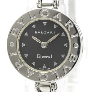 【BVLGARI】ブルガリ B-Zero1 シェル文字盤 ステンレススチール クォーツ レディース 時計 BZ22S