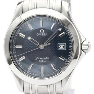【OMEGA】オメガ シーマスター 120M ステンレススチール クォーツ メンズ 時計 2511.81