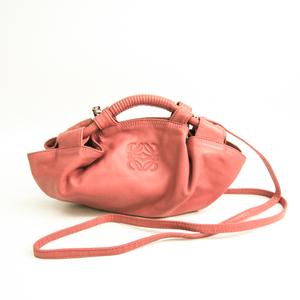 ロエベ(Loewe) ナッパアイレ ミニナッパアイレ レディース レザー ハンドバッグ,ショルダーバッグ ピンク