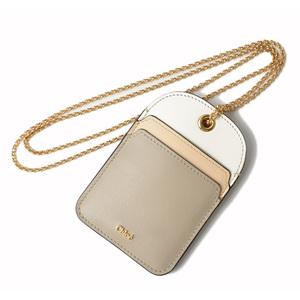 Chloé Leather Key Case Blue