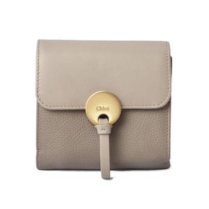 Chloé Leather Key Case Black
