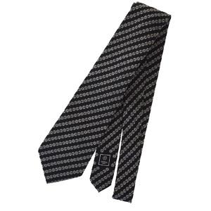 シャネル(Chanel) ネクタイ シルク ブラック