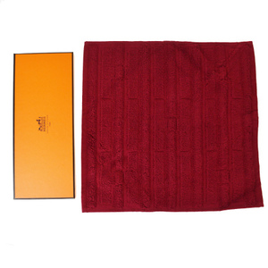 Hermes Hand Towel Red Color