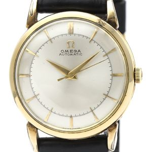 Omega Automatic Gold Plated Men's Dress Watch 2445