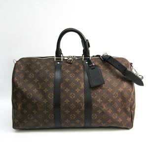 ルイ・ヴィトン(Louis Vuitton) モノグラム・マカサー キーポル・バンドリエール45 M56711 ボストンバッグ モノグラム・マカサー