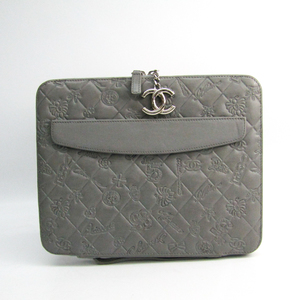 Chanel Case For IPad Gray Icon line 9.7 inch tablet case