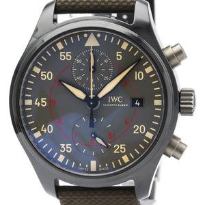 IWC Pilot Watch Automatic Ceramic Men's Sports Watch IW389002