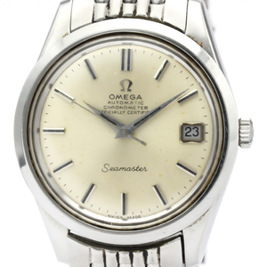 Omega Seamaster Automatic Stainless Steel Men's Dress Watch 168.024
