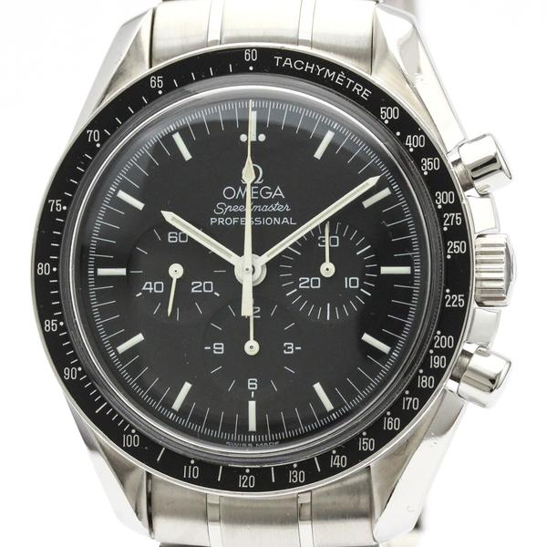 【OMEGA】オメガ スピードマスター プロフェッショナル ステンレススチール 手巻き メンズ 時計 3572.50