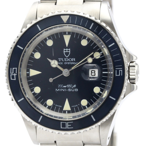 TUDOR ROLEX MINI-SUB Steel Automatic Watch 73090
