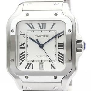 Cartier Santos De Cartier Automatic Stainless Steel Men's Dress Watch WSSA0009