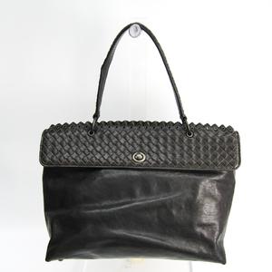 ボッテガ・ヴェネタ(Bottega Veneta) イントレチャート 244844 イントレチャート ハンドバッグ ブラック