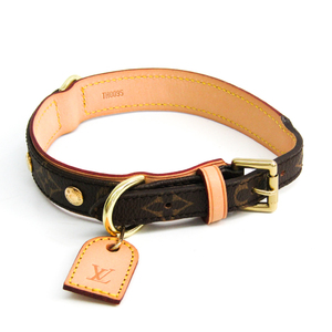 Louis Vuitton Monogram Dog Collar Monogram Monogram Collier Baxter MM M58071