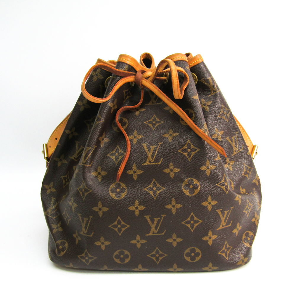 Louis Vuitton Monogram Petit Noe M42226 Women's Shoulder Bag Monogram
