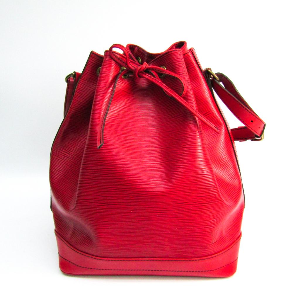 Louis Vuitton Epi Noe M44007 Women's Shoulder Bag Castilian Red