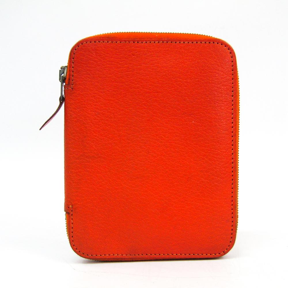 エルメス(Hermes) アジェンダ 手帳 オレンジ アジェンダジップ
