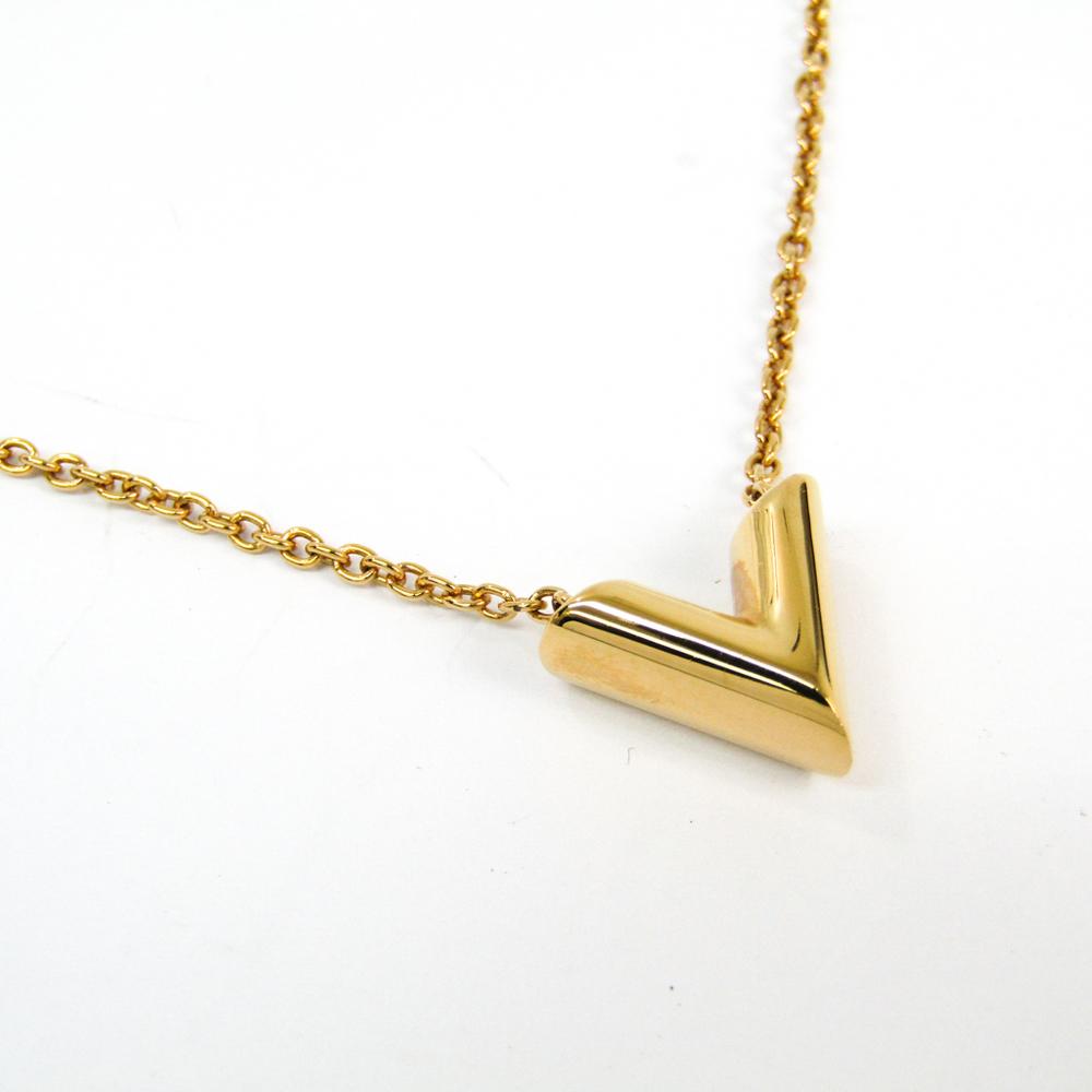 Louis Vuitton Essential V M61083 Women's Pendant Necklace