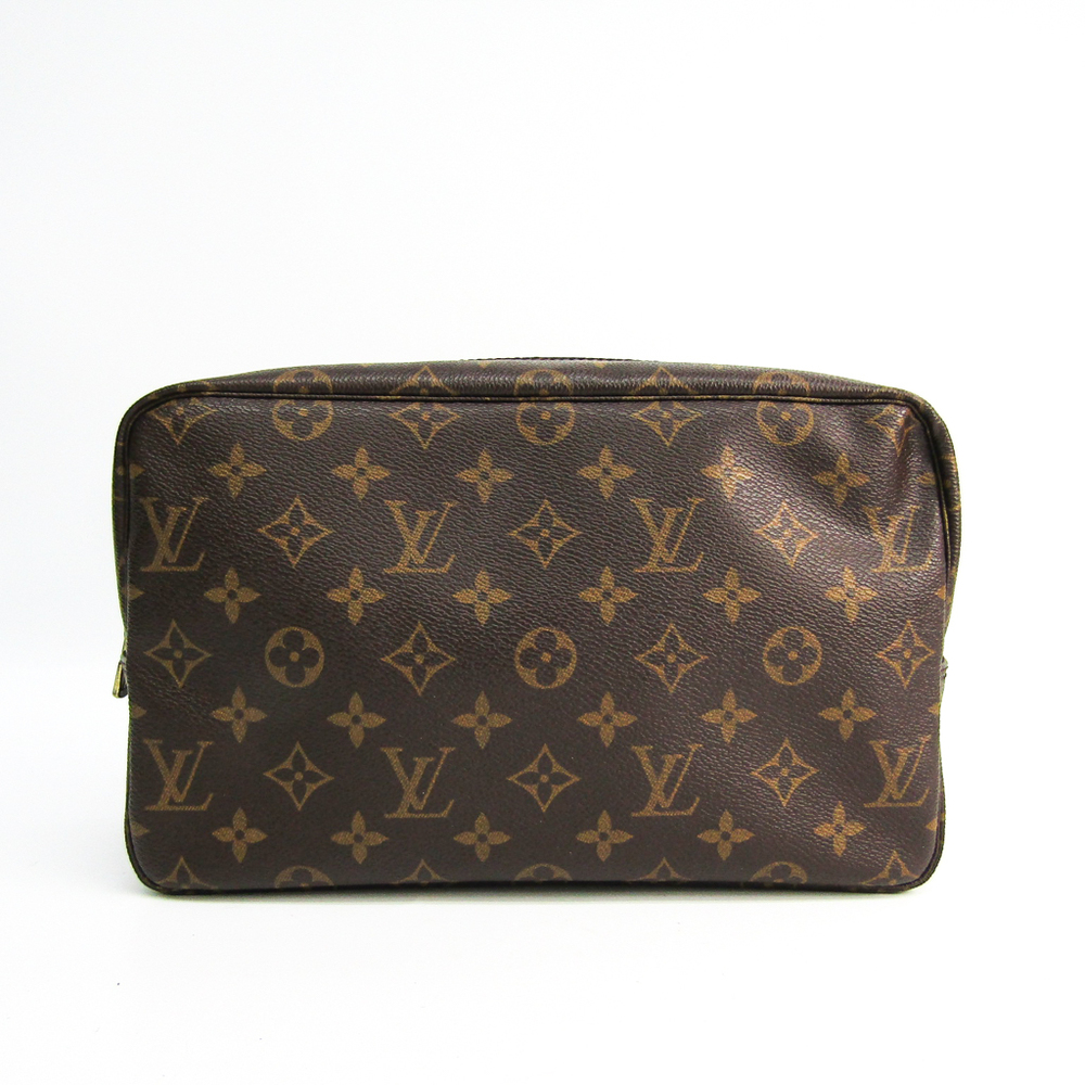 Louis Vuitton Monogram Trousse Toilette 28 M47522 Women's Pouch Monogram