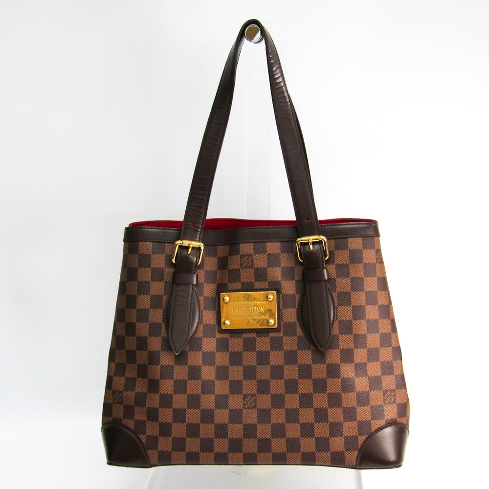 Louis Vuitton Damier Hampstead MM N51204 Women's Shoulder Bag Ebene
