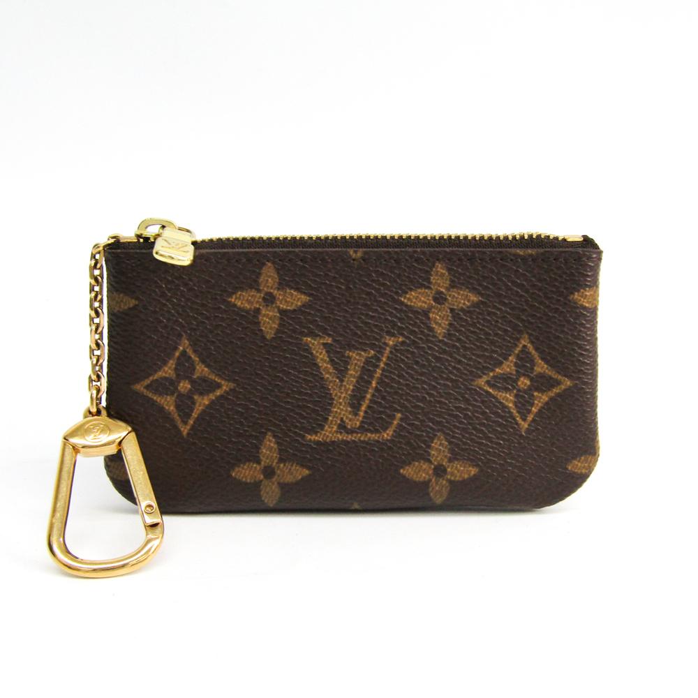 Louis Vuitton Monogram M62650 Key Pouch Monogram Coin Purse/coin Case Monogram