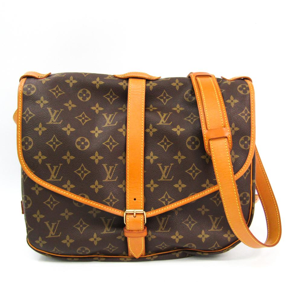 Louis Vuitton Monogram Saumur 35 M42254 Women's Shoulder Bag Monogram