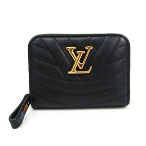 ルイ・ヴィトン(Louis Vuitton) ニューウェーブ ジプト・コンパクト・ウォレット M63789 レディース レザー 財布(二つ折り) マルチカラー,ノワール
