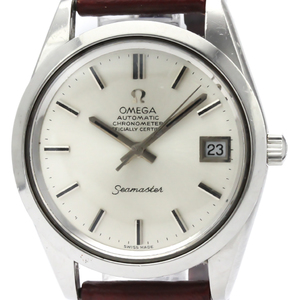 Omega Seamaster Automatic Stainless Steel Men's Dress Watch 168.0061