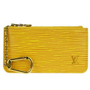ルイ・ヴィトン(Louis Vuitton) エピ ポシェット クレ  M63809 エピレザー 小銭入れ・コインケース イエロー