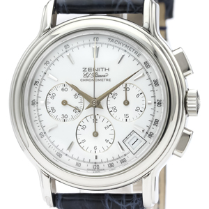 Zenith Chronomaster Automatic Stainless Steel Men's Sports Watch 01.0240.400
