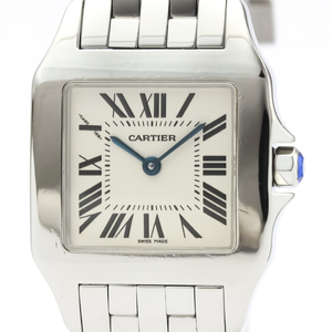 Cartier Santos Demoiselle Quartz Stainless Steel Unisex Dress Watch W25065Z5