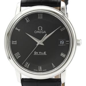 Omega De Ville Quartz Stainless Steel Men's Dress Watch 4510.52