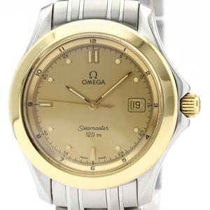 Omega Seamaster Quartz Stainless Steel,Yellow Gold (18K) Men's Sports Watch 2311.11