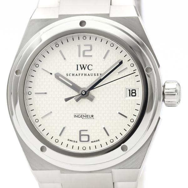 【IWC】インヂュニア ミッドサイズ ステンレススチール 自動巻き ユニセックス 時計 IW451501