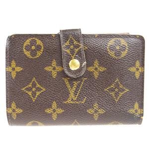 Louis Vuitton Monogram M61674 Viennois Monogram Middle Wallet (bi-fold) Brown