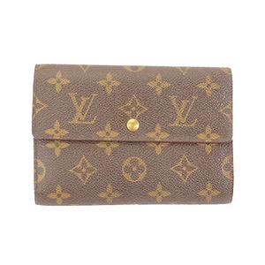 Louis Vuitton Wallet Monogram Portetresor etui chequier M61200