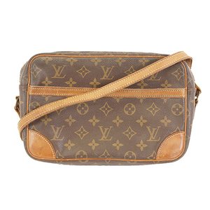 Auth Louis Vuitton Monogram Trocadero27 M51274 Women's Shoulder Bag Monogram