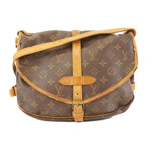 Auth Louis Vuitton Monogram M42256 Women's Shoulder Bag Monogram