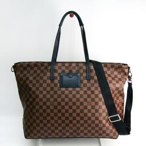 ルイ・ヴィトン(Louis Vuitton) ダミエ カバ N41242 メンズ ショルダーバッグ,トートバッグ エベヌ,ネイビー