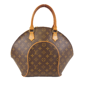 Auth Louis Vuitton Monogram M51126 Women's Handbag Brown