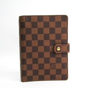ルイ・ヴィトン(Louis Vuitton) ダミエ 手帳 エベヌ R20701 アジェンダMM