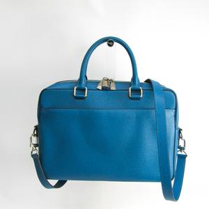 ルイ・ヴィトン(Louis Vuitton) タイガ ポルト・ドキュマン・ビジネス PM M32715 メンズ ハンドバッグ,ショルダーバッグ ブルー