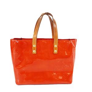 Auth Louis Vuitton Monogram Vernis M91088 Women's Handbag,Tote Bag Rouge