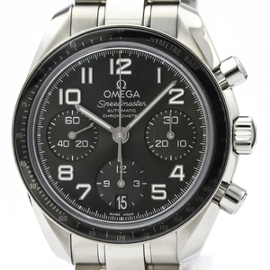 Omega Speedmaster Automatic Stainless Steel Men's Sports Watch 324.30.38.40.06.001