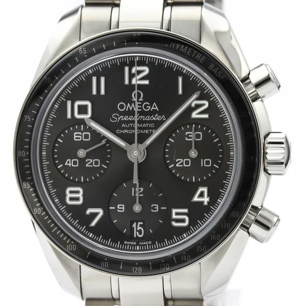 オメガ(Omega) スピードマスター 自動巻き ステンレススチール(SS) メンズ スポーツウォッチ 324.30.38.40.06.001