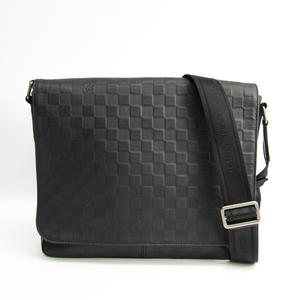 ルイ・ヴィトン(Louis Vuitton) ダミエアンフィニ ディストリクト MM N41284 メンズ ショルダーバッグ オニキス
