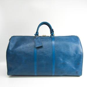 ルイ・ヴィトン(Louis Vuitton) エピ キーポル55 M42955 ボストンバッグ トレドブルー
