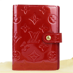 Louis Vuitton Vernis Planner Cover Pomme D'amour Monogram R21016