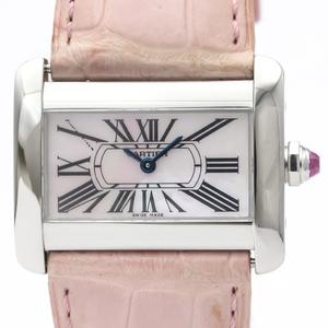 Cartier Tank Divan Quartz Stainless Steel Women's Dress Watch W6301455