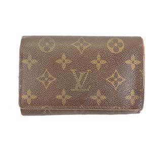 ルイヴィトン 二つ折り財布 モノグラム ポルトフォイユトレゾール M61736