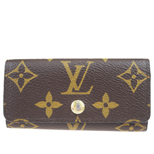 Louis Vuitton Monogram Multicule 4 M62631 Monogram Key Case Monogram